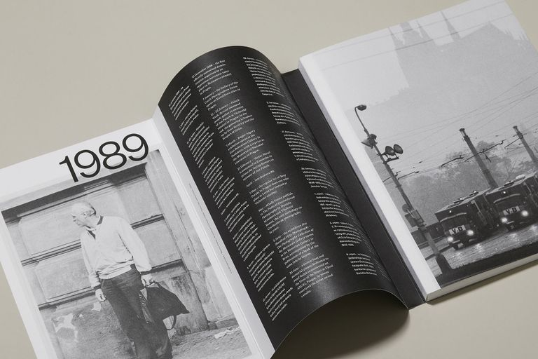 1989 National Gallery in Prague Exhibition Catalog layout