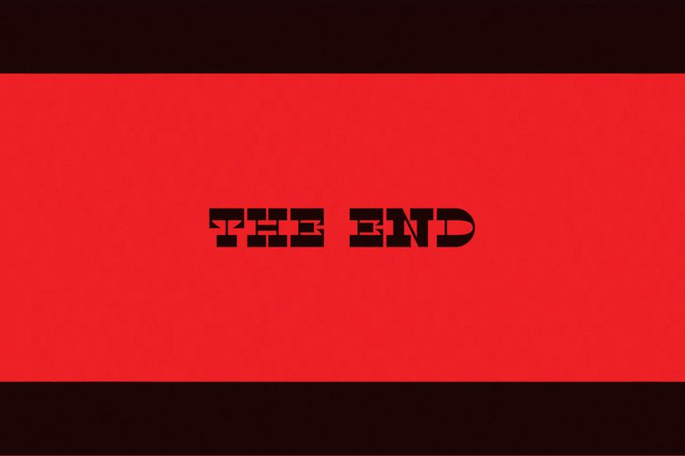 THE END design